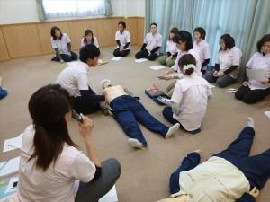 応急手当普及員による講習
